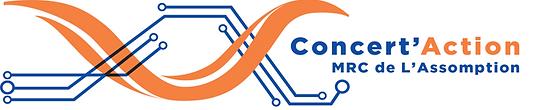 Logo Concert'Action MRC de L'Assomption