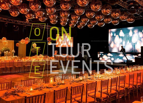 On Tour Events Supplies Audio Visual Hire Services In Kent for A Gala Dinner & Awards Show.