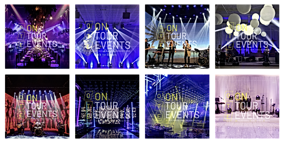 Awardshow Lighting Equipment From On Tour Events in London