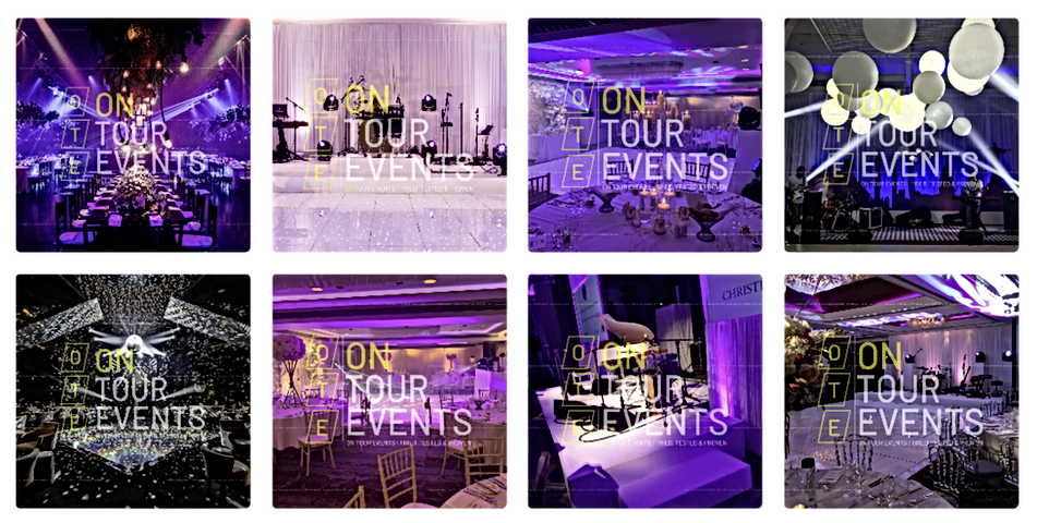 Wedding Lighting Hire in London By On Tour Events