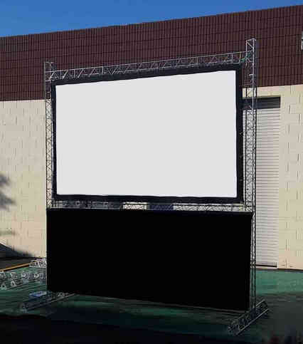 Large LCD Projector in London for hire
