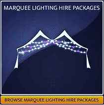 Marquee Lighting Hire Page