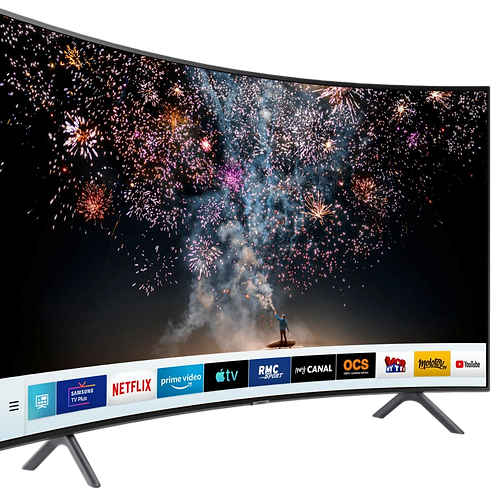 Curved TV Screen Hire London