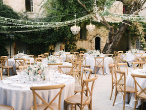 On Tour Events Provides Wedding Production For A Rustic, Romantic Wedding In The French Countryside