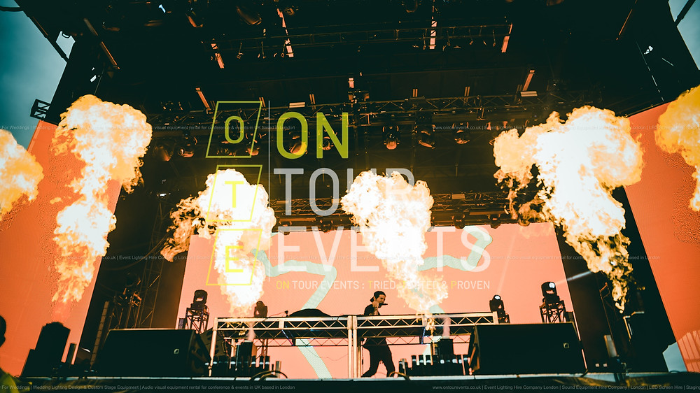 Event Services For Festival in London by On Tour Events