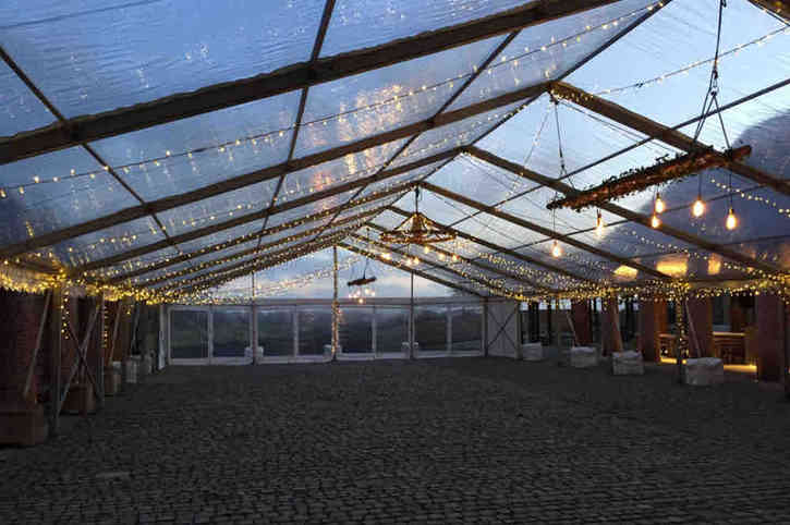 Event lighting for wedding planners