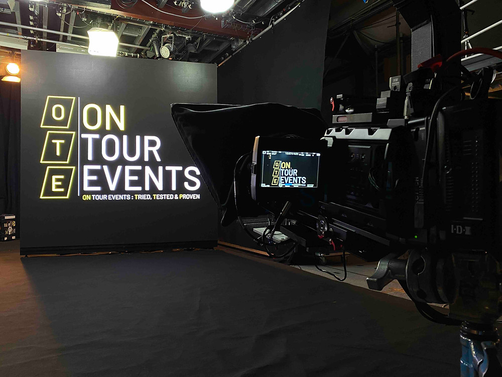 TV Film Lighting & Screen Setup in London