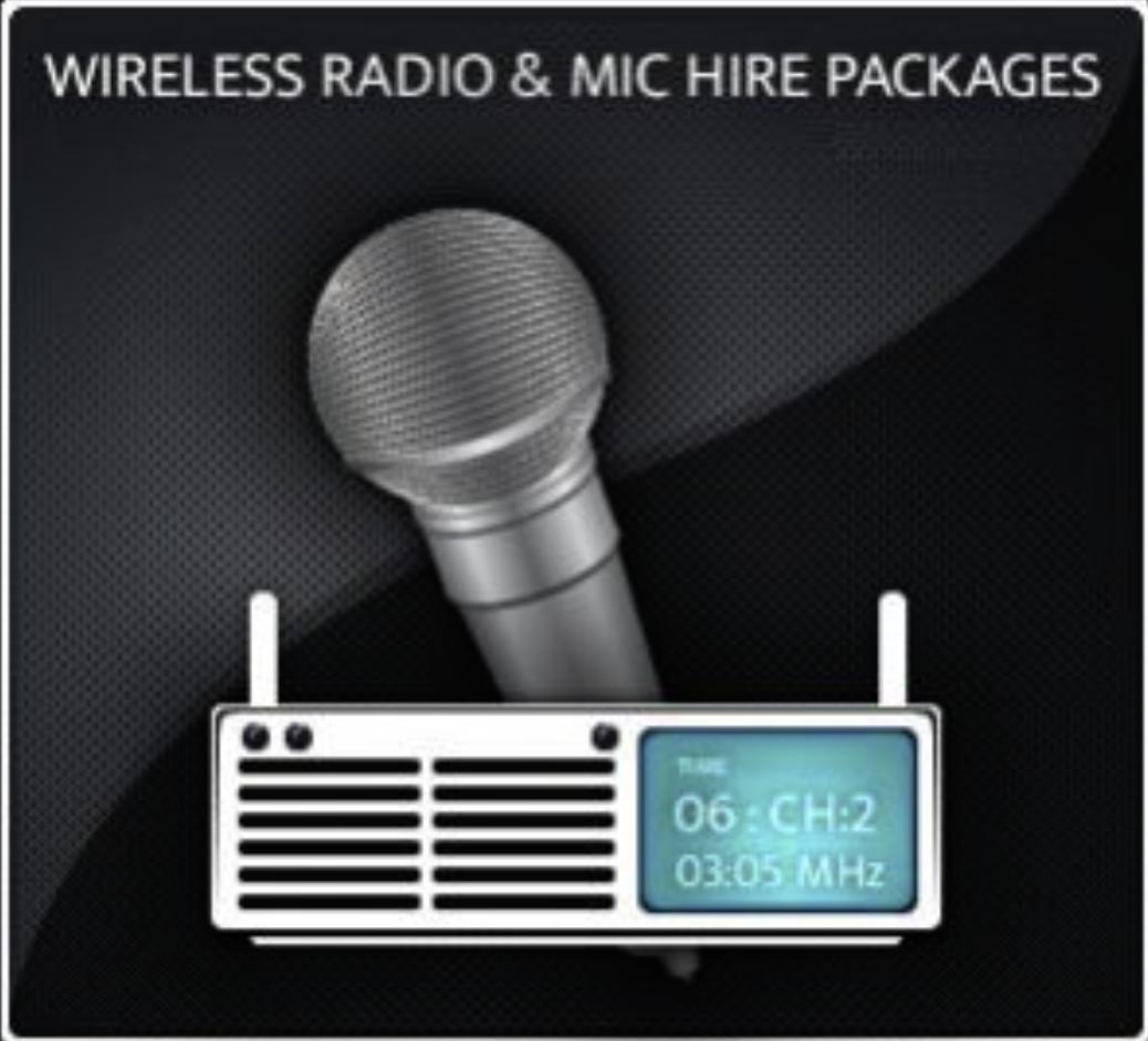Wireless Microphone Hire London