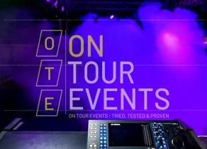 How to Set Up Audio Visual Equipment. A Technical Guide With On Tour Events.