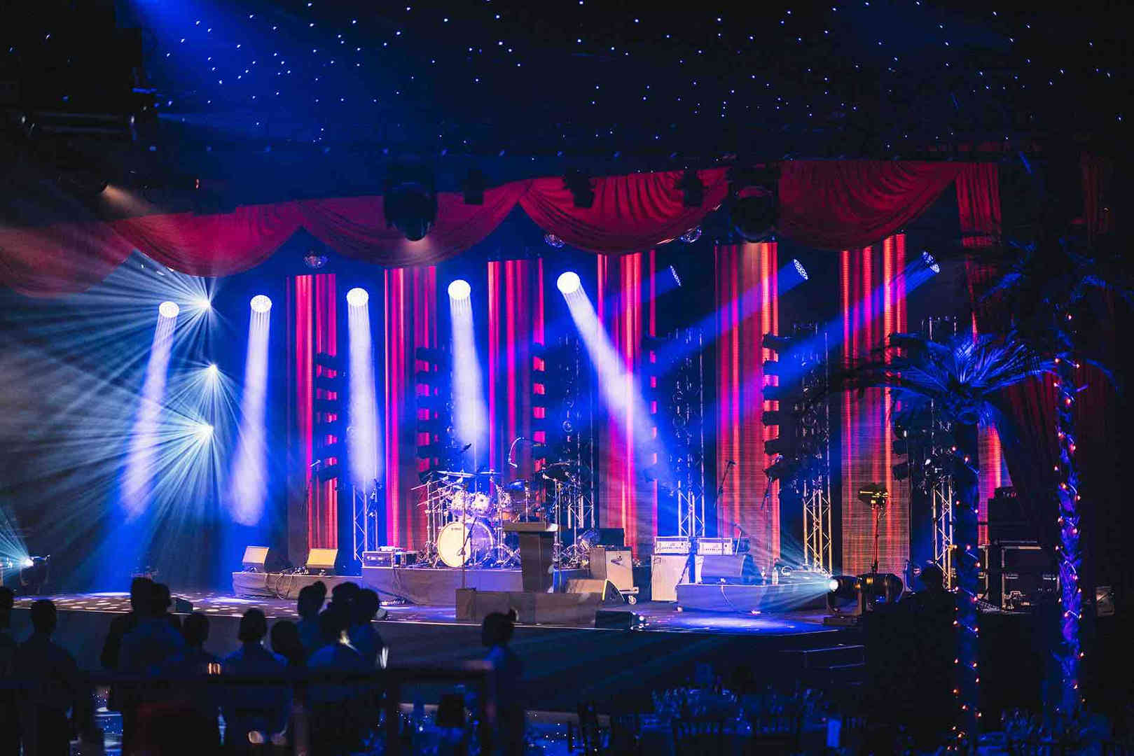 Awardshow Lighting Equipment London AV Event Services Supplied