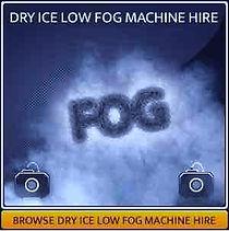 Dry Ice Machine Hire Page