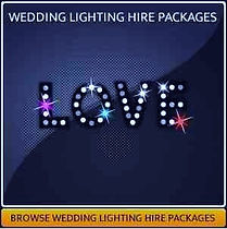Wedding Lighting Hire Page
