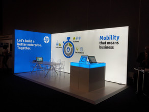 Why Use LED Screen with Your Next Exhibition Stand, On Tour Events Can Design & Build Custom Stands
