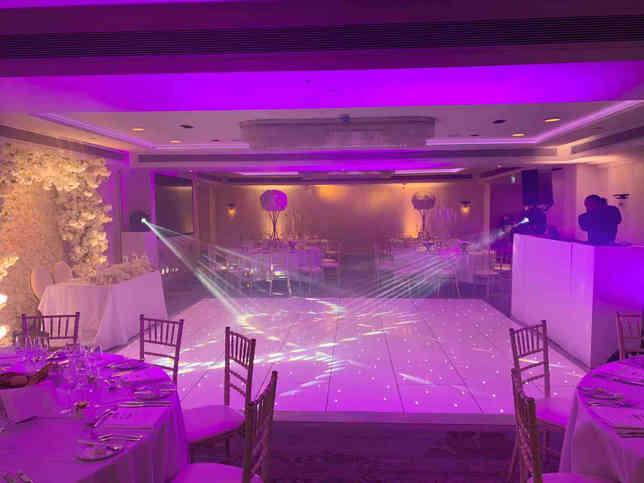 Wedding Dance Floor & Lighting in London