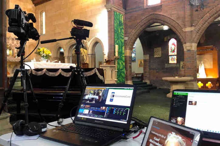 Live Streaming in a church