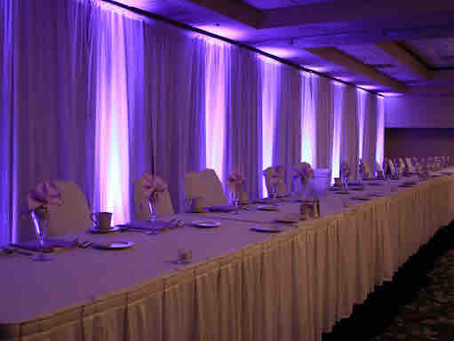 What Is Wedding Uplighting? On Tour Events Talks About Using LED Uplighters At Your Wedding