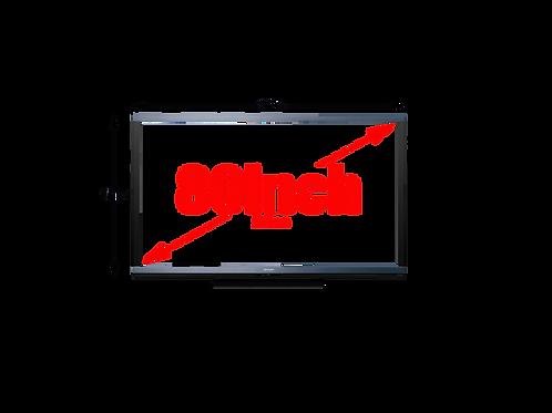 "80"" TV Screen Hire London"