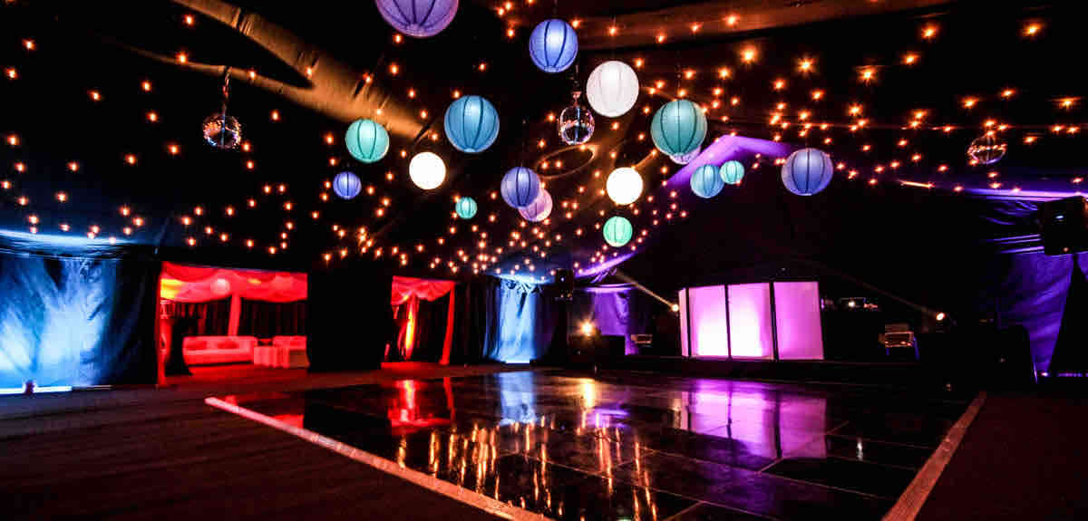 0100 Marquee Event Lighting Hire London.