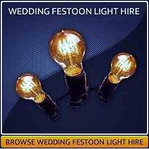 Wedding Festoon Hire Page