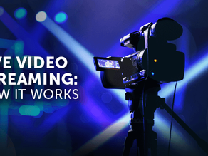 Professional Live Streaming & Audio Visual Services From the UK's Leading AV Hire Company
