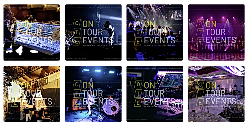On Tour Events Gallery Page