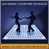LED Dance Floor Hire Page