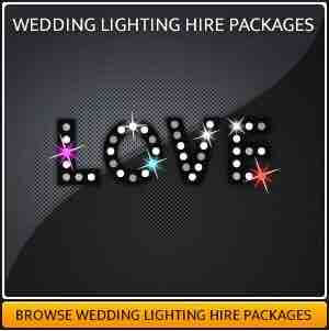 Wedding Lighting Services