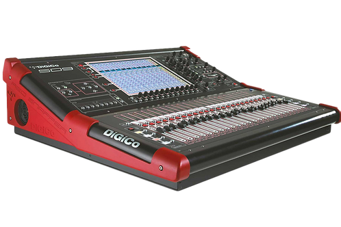 DiGiCo SD9 Digital Mixer Hire London