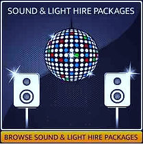 Sound & Lighting Hire Page