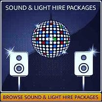 Sound & Lighting Hire Page