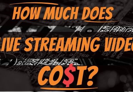 How Much Does Live Streaming An Event Cost?