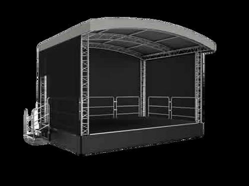 6 Meter X 4 Meter Festival Stage Hire Package