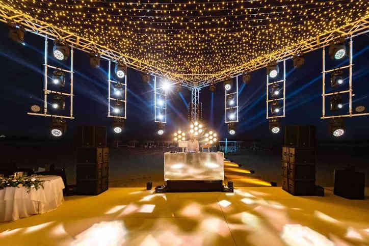 Event & wedding lighting hire company in London & Surrey