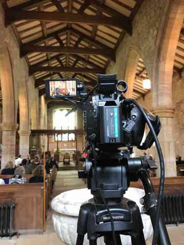 Hire live streaming camera London