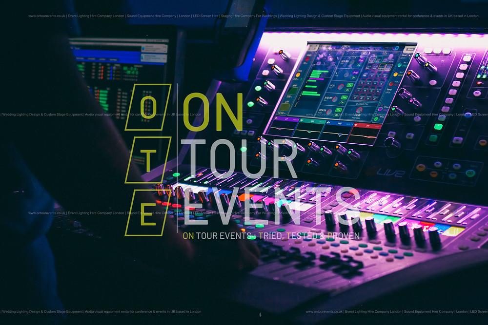 Audio Visual Hire Equipment in London