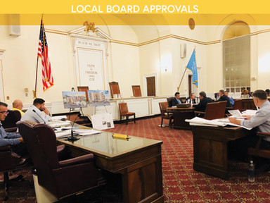 LOCAL BOARD APPROVALS