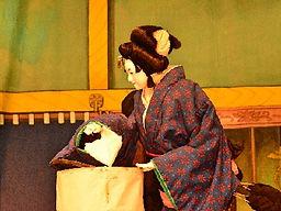 Bunraku, a puppet theater