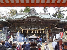 mountain asceticism temple at the top of Mt.Takao