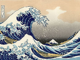 Hokusai's world-famous Ukiyoe printing