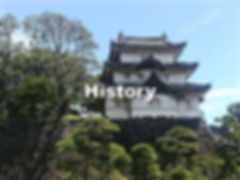 Edo castle, a stage of Japan's history
