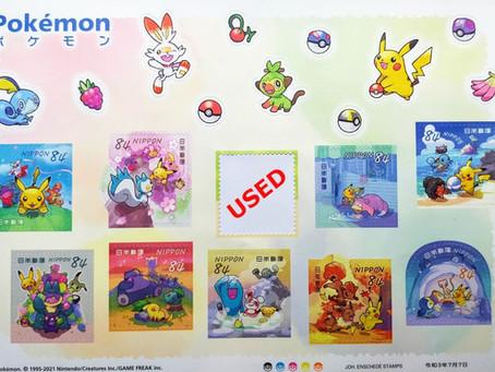 Japanese pop culture - Pokémon stamps