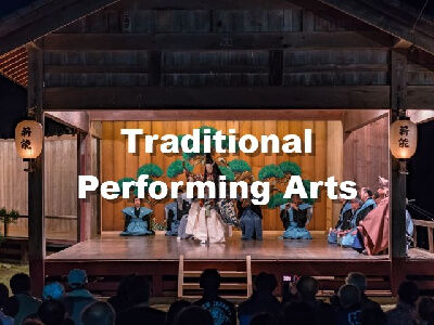 Japanese traditional perfoming art, Noh stage