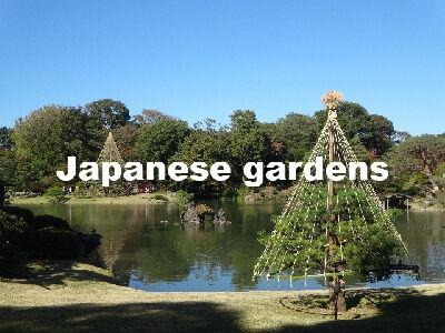 Scene of Japanese landscap garden