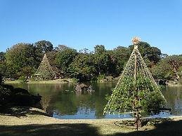 Rikugien, a Japanese landscape garden in Tokyo