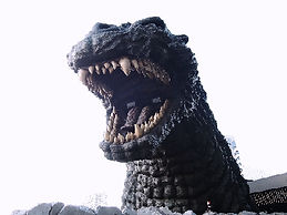 Godzilla monument