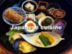 Japanese authetic cuisine
