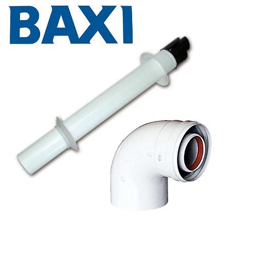 Baxi | Kit Scarico Fumi Baxi Curva Coassiale 60/100