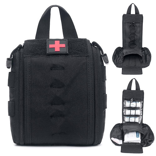 Molle Tactical First Aid Kit Utility Medical Accessory Bag Waist Pack