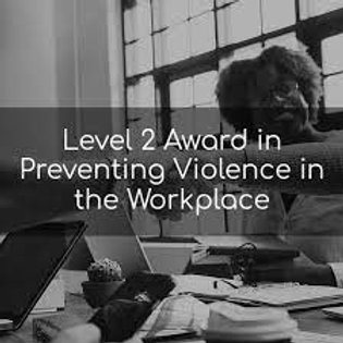 QNUK Level 2 Award in Preventing Violence in the Workplace (RQF)