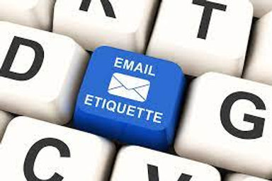 Email Etiquette e - learning